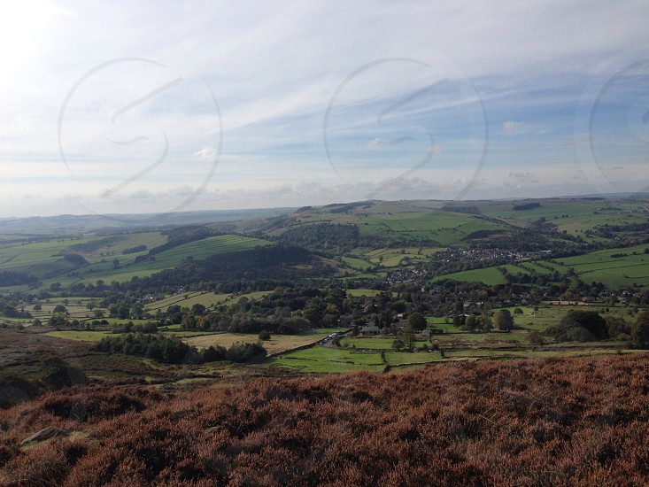 Nature derbyshire England beauty Peak District natural lonely middle of nowhere  photo