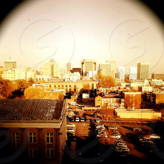 On top of the Jefferson hotel in RVA  photo