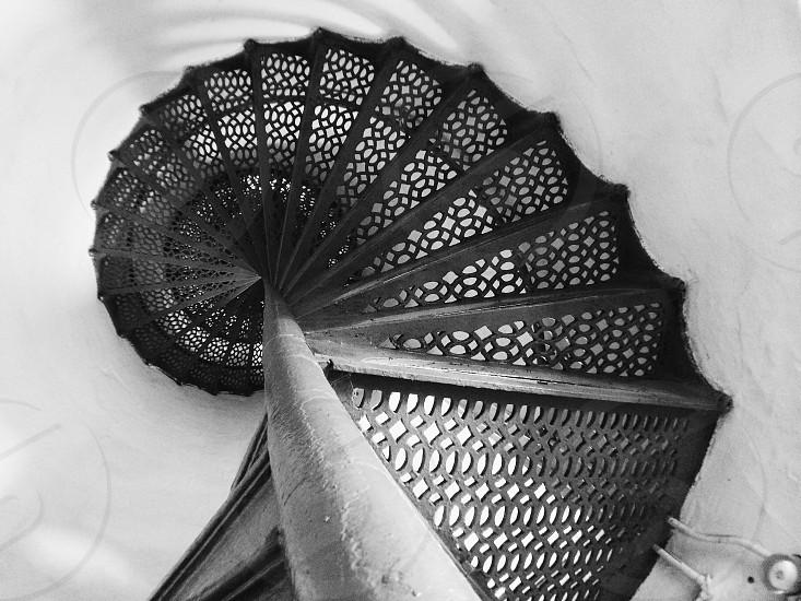 quarterlanding stairs photo