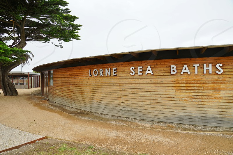 Lorne on the Surf Coast Shire Great Ocean Road Victoria Australia photo