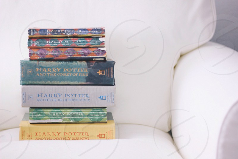 Mismatched books. photo