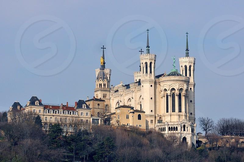 Basilica Notre Dame de Fourviers Lyon photo