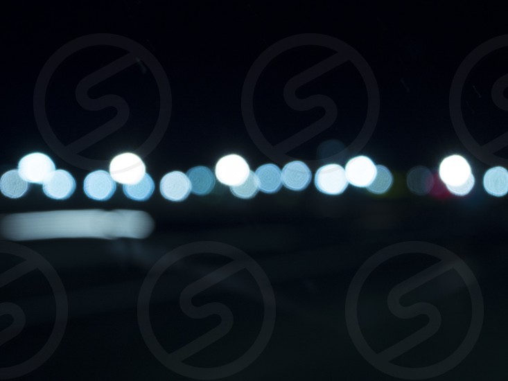 bokeh night photo