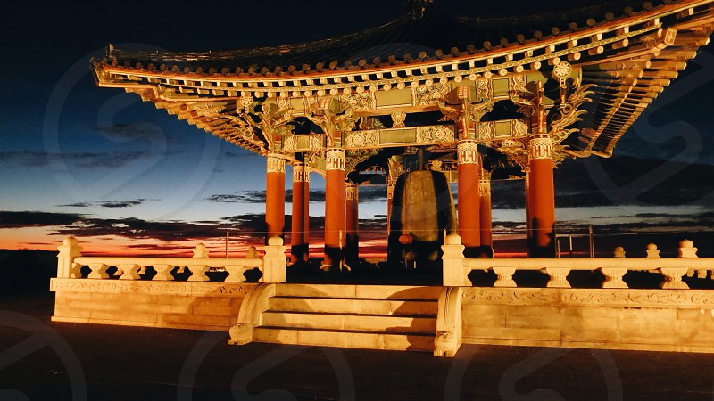Korean friendship bell . #korea  photo