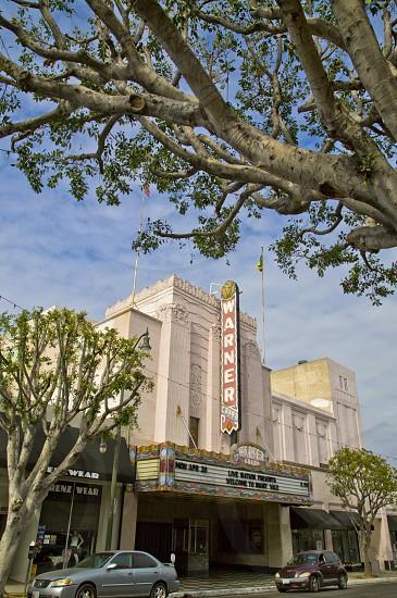 theatre art deco style grandeur architecture theater classic San Pedro California Warner Grand photo