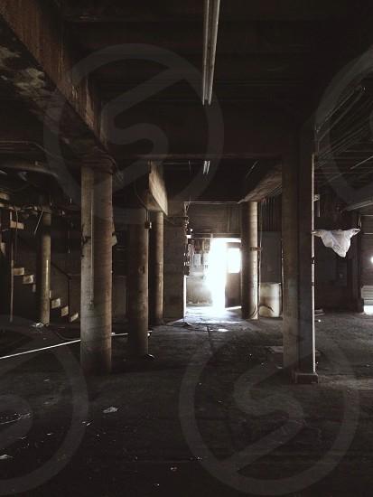 Empty basement photo