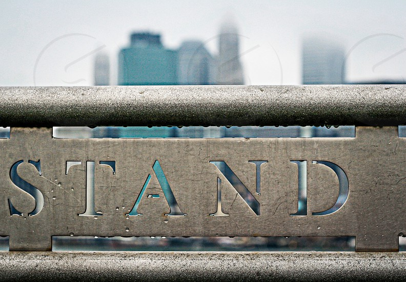 Stand photo