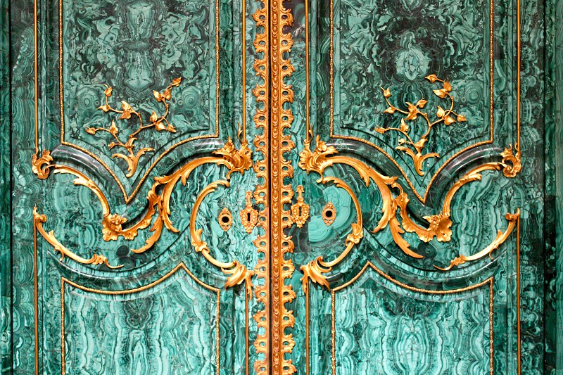 Door Antique Detail Handle photo