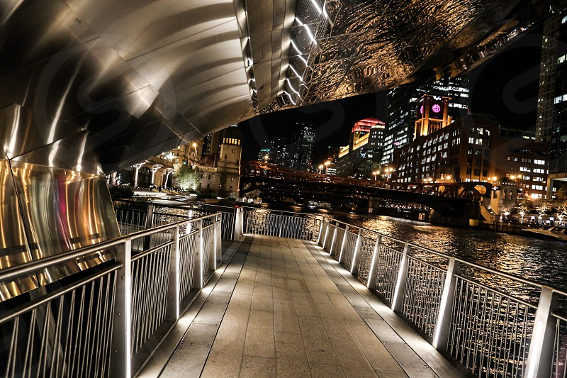 Chicago River front photo