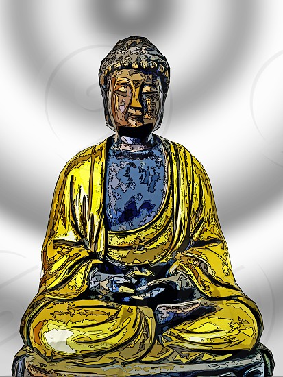 Buddha figure photo