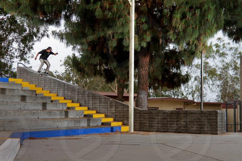 Skateboarder photo