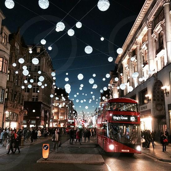 Time freezes-Christmas on Oxford Street photo