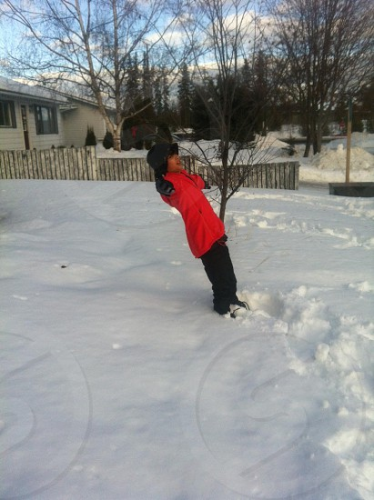 Snow time photo