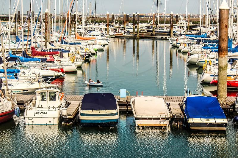 Boat lifestyle photo