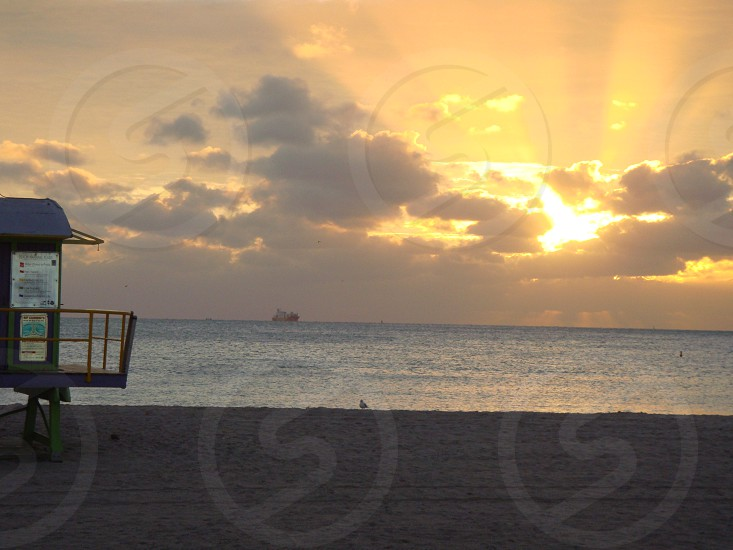 Sunrise South Beach Miami photo
