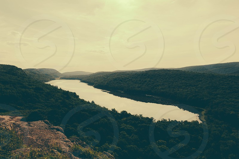 Lake of the Clouds photo