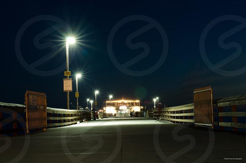 Orange County beach California Newport Pier photo