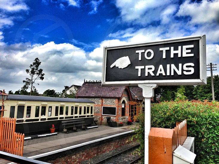 Travel journey trains  photo