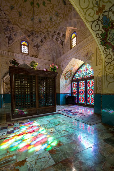 This mausoleum built by Nasir-al-mulk for Imamzadeh Zanjiri who is a descendant of a shia Imam. photo