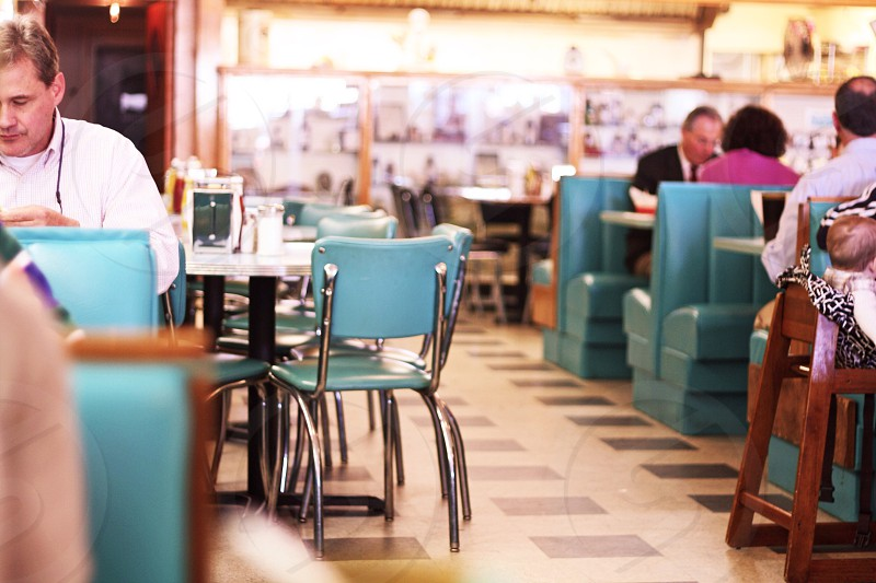 turquiose restaurant photo