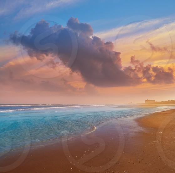 Atlantic Beach in Jacksonville East of Florida USA US photo