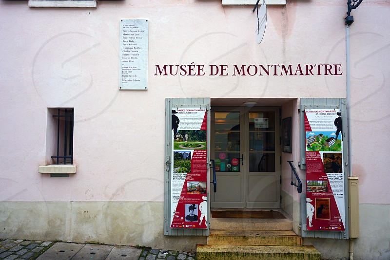 Musee de Montmartre in Paris France photo