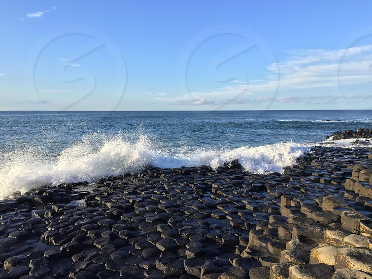 The Giant Causeway in Northern Ireland photo