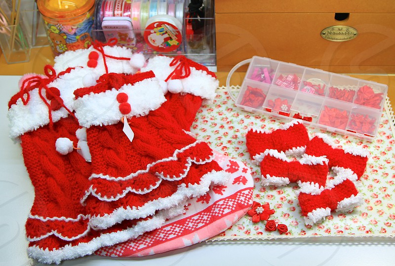 Lovely Christmas knits! photo