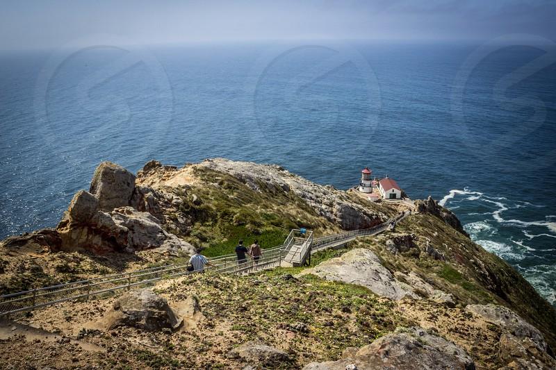 Point Reyes lighthouse.  photo