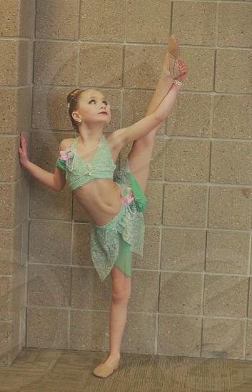 Kid child girl children daughter human face portrait dancer ballet lyrical smile smiling daytime  photo
