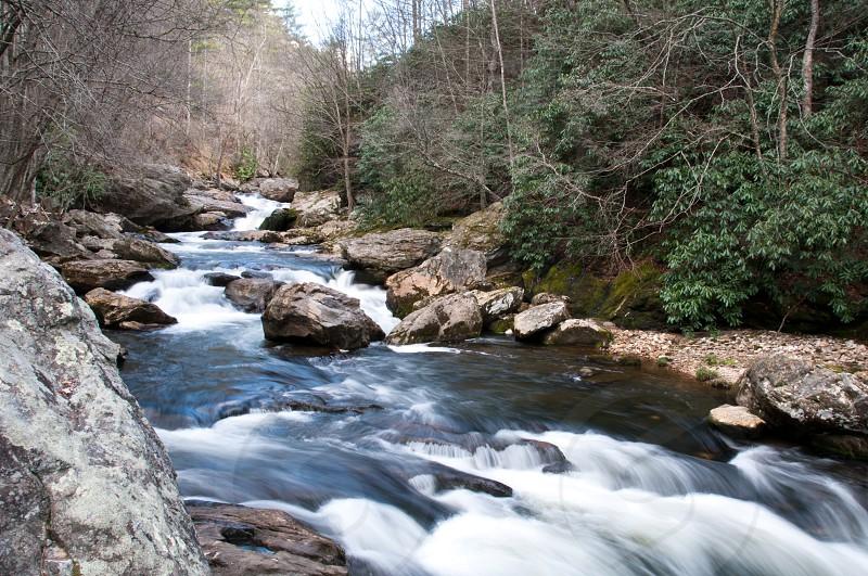 Mountain river. NC. photo