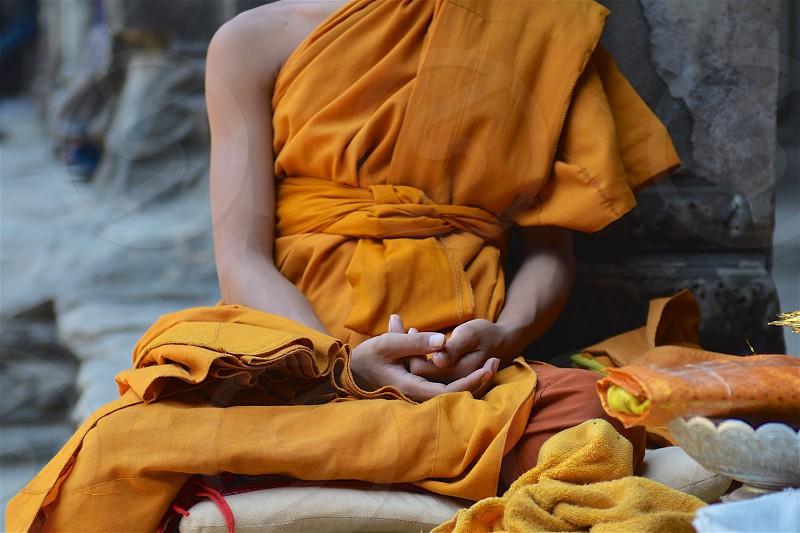 Monk Portrait photo