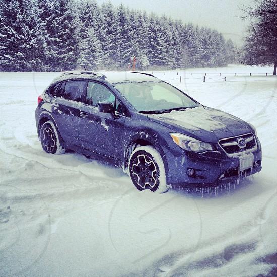 Subaru winter 2014 photo