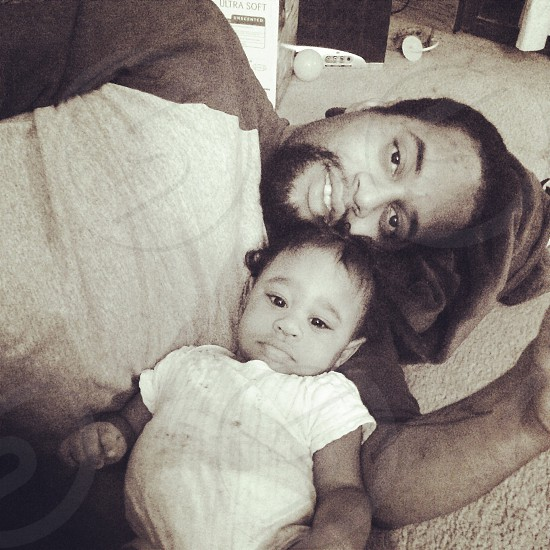 man and baby grayscale photo photo