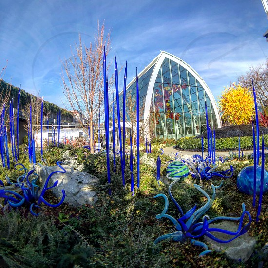 Chihuly Garden and Glass Seattle USA  photo