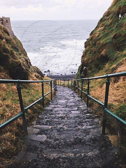 stairs for the ocean photo