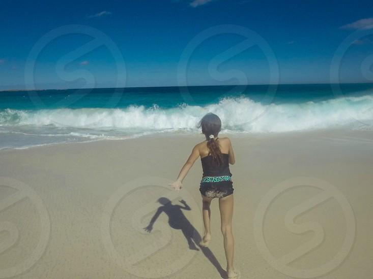 Running to paradise  photo