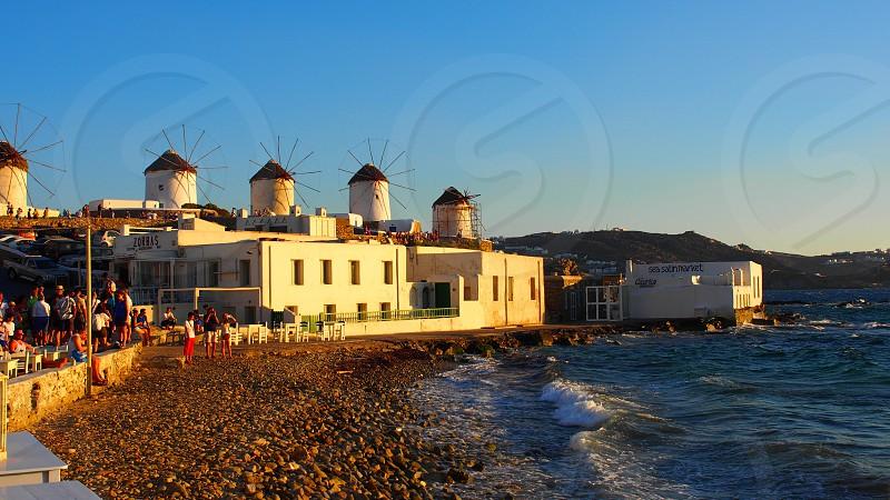 Mykonos Greek Islands photo