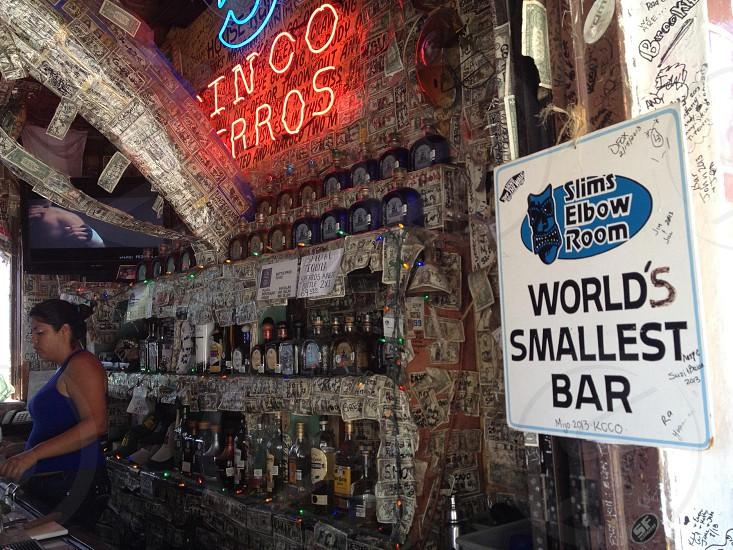 """World Smallest Bar"" photo"
