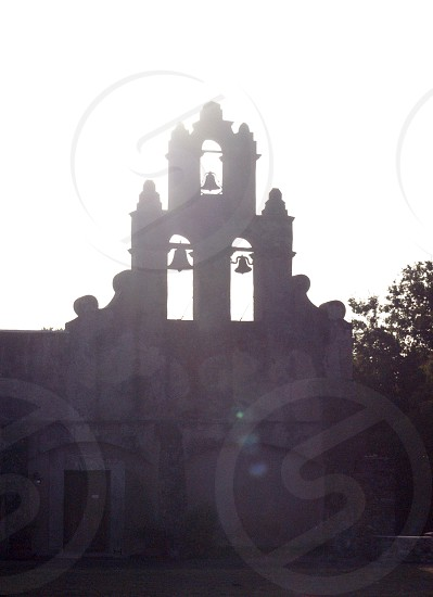 missions church sunshine historic bells cross religion faith photo