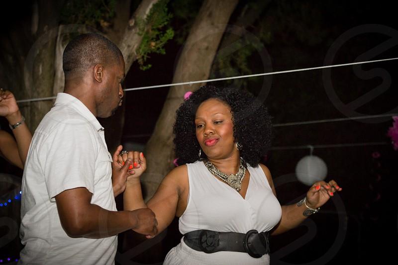 Swingin all white party photo