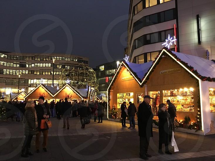 Christmas Germany night photo