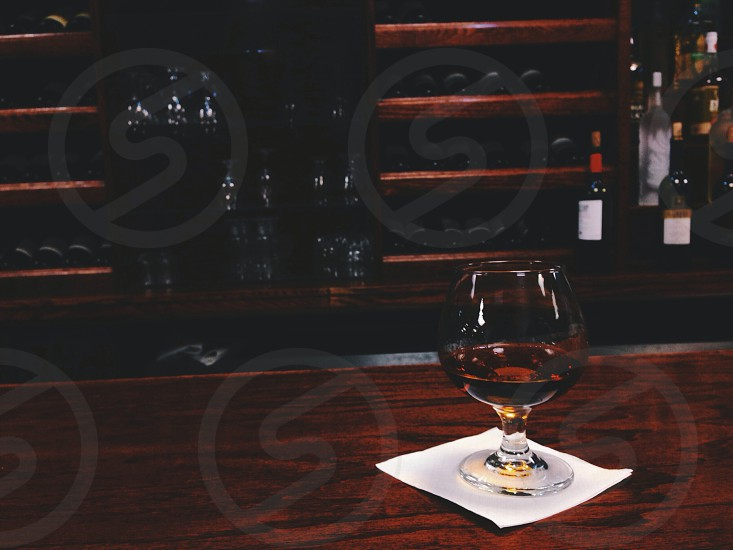Drinks alcohol bar wine solace glass eatery liquor Hennessy dark liquor scotch wine glass cognac James Bond photo