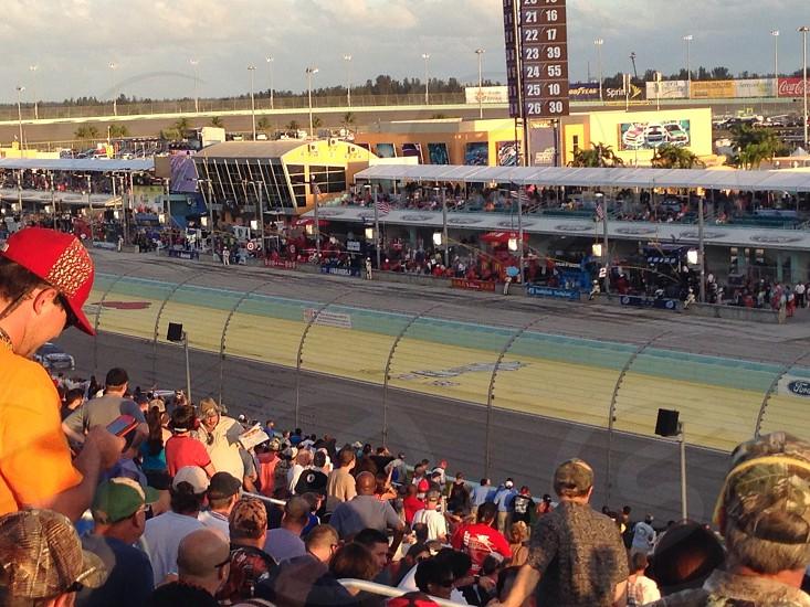 Miami-Homestead Speedway. photo