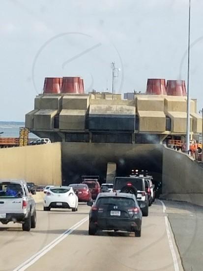 tunnel under the Chesapeake Bay Virginia photo