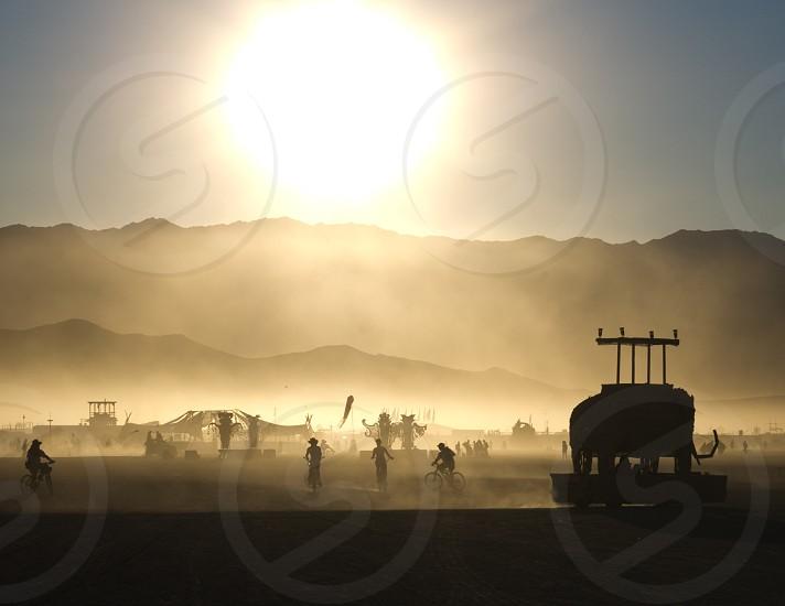 Black Rock City Burning Man festival Nevada 2 photo