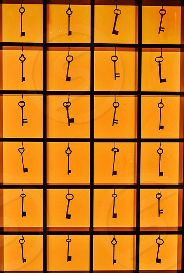 Old keys photo