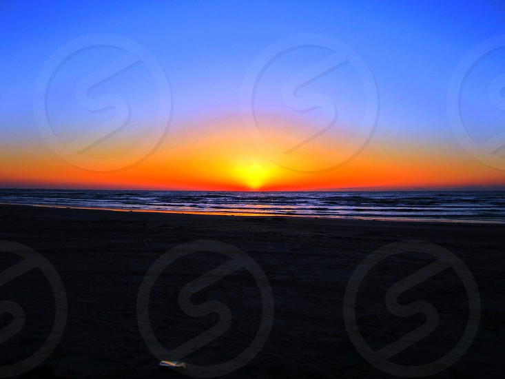 Mustang Island  Tx Sunrise photo