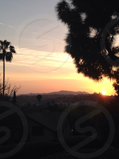 California sunset photo