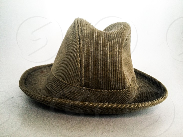 Vintage hat fedora mans  photo